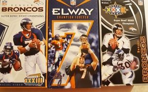 Broncos vhs tapes